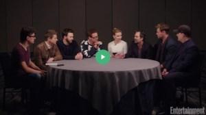 The Original Film Avengers Talk To EW