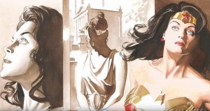 Alex Ross Draws Wonder Woman: Origins