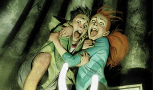 Lose Your Mind in R.L. Stine's Just Beyond: The Horror At Happy Landings  LANDINGS at BOOM! Studios