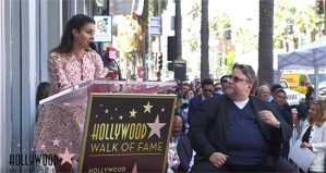 Watch The Stream Of Guillermo del Toro Getting His Star On The Walk Of Fame