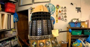 How To Make A Dalek From Recycled Material