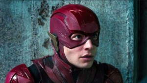 The Flash Readies For A UK Shoot