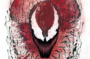 Carnage Unleashed On Peach Momoko's Carnage: Black, White & Blood #1 Cover