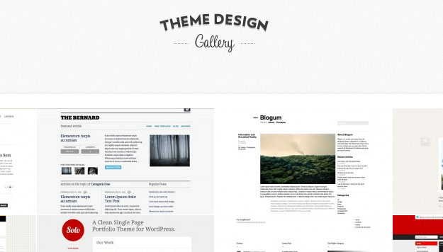 Theme Design Gallery