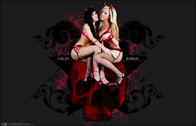Violet and Gisele