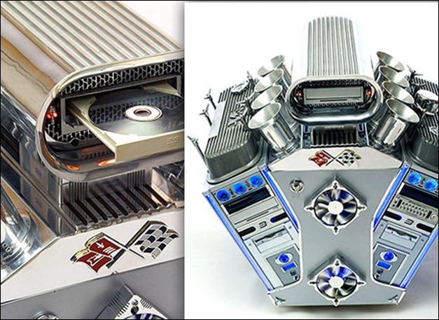Engine Case Mod with V8 power