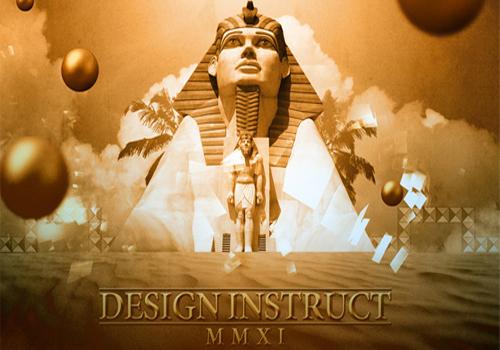 Surreal Ancient Egypt Scene