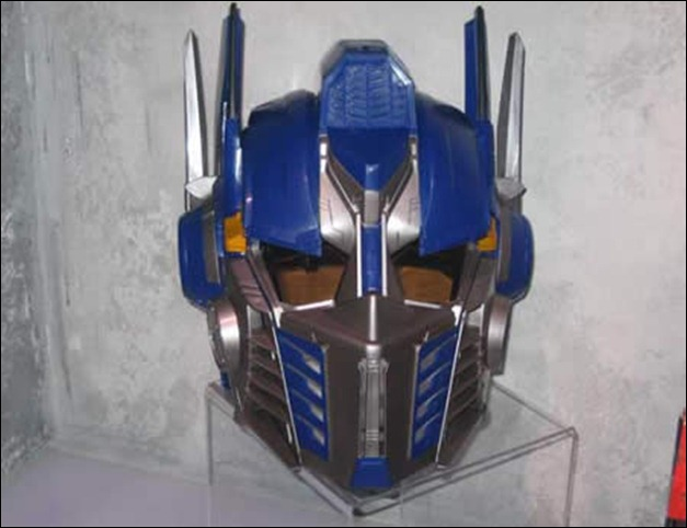 Optimus Prime – Transformer Helmet