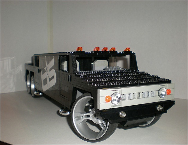 Lego Hummer H2 SUT Stretch Limo