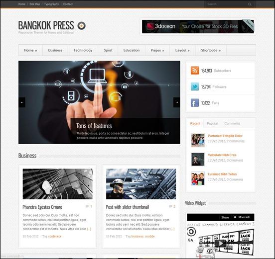 Bangkok Press Theme