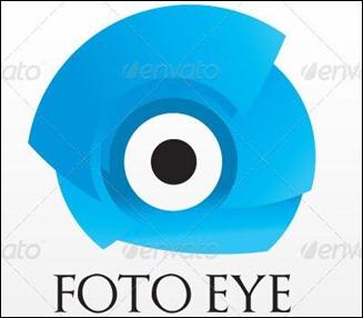 Foto Eye Logo Template