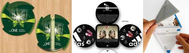 30 Creative Die-Cut Brochure Designs for Inspiration