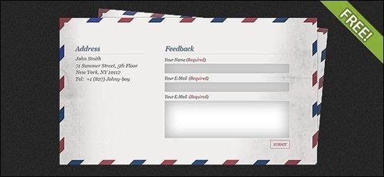 mail-feedback-form