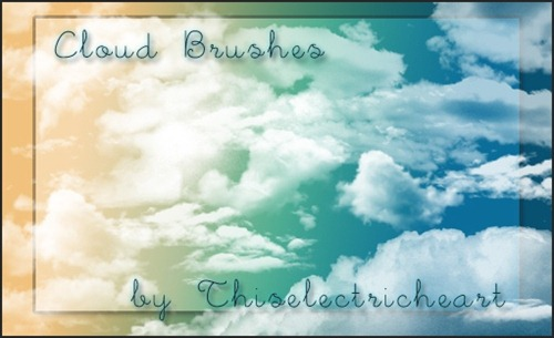real-cloud-brushes