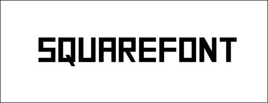 squarefont