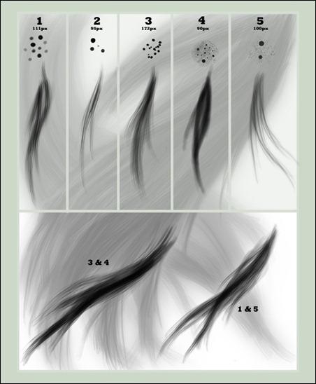 Hair-brush-set