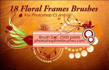 floral-frame-photoshop-brushes