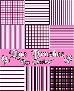 line-pattern-brushes