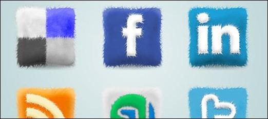 Furry Cushions Social Icons
