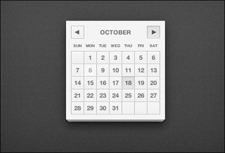 calendar-ui-psd