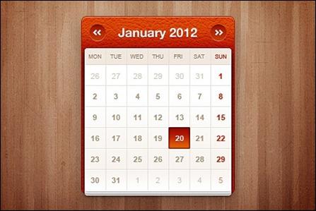 little-calendar-widget