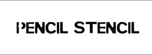 pencil-stencil