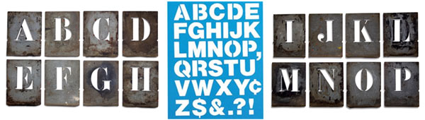 35+ High-Quality Stencil Font Showcase for Designers