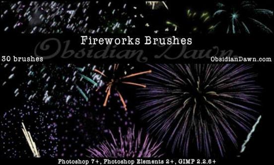 fireworks-celebration-brushes