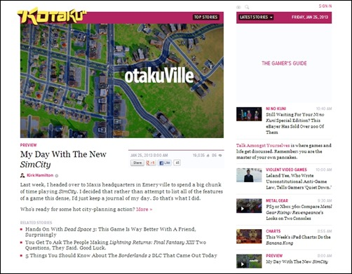 Kotaku-gaming-websites