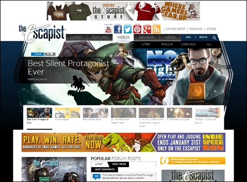 The-Ecapist-gaming-websites