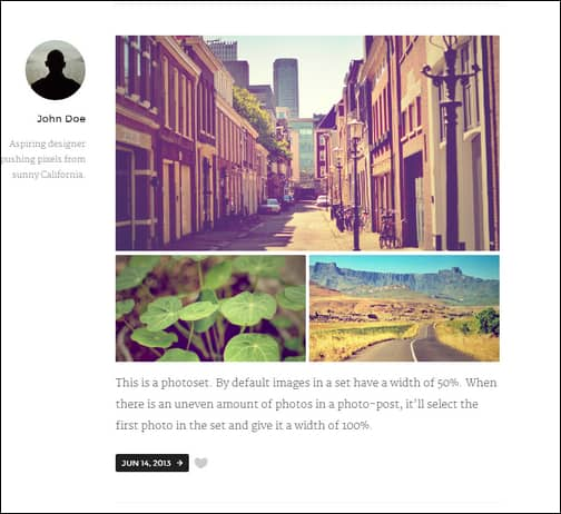 Zen — A Premium Theme for Tumblr