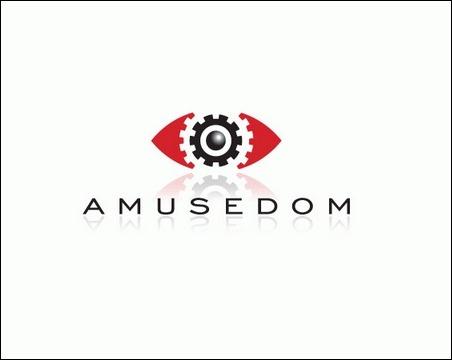 amusedom-logo-design