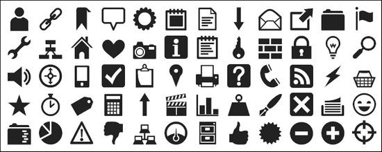 Download 40+ Cool Icon Font Sets - Tripwire Magazine