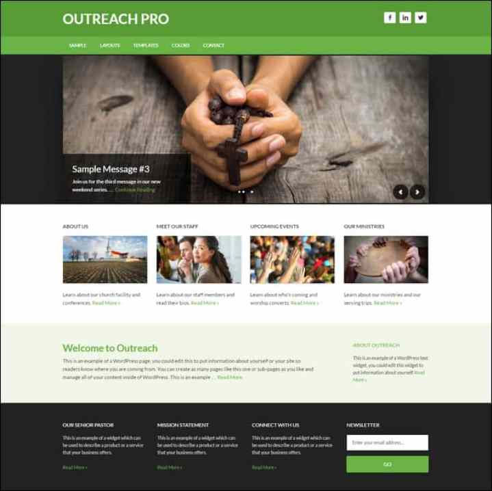 Outreach Theme For Churches
