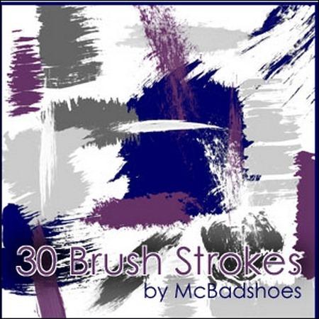 brush-strokes
