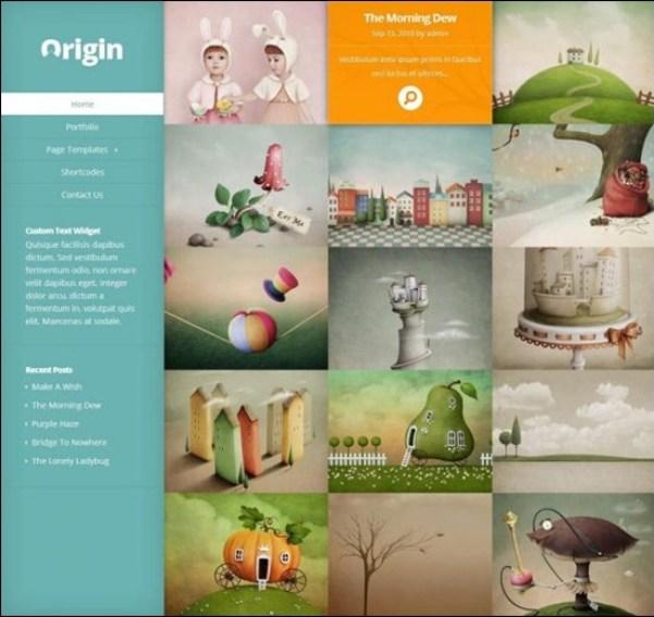 Origin Responsive WordPress Theme