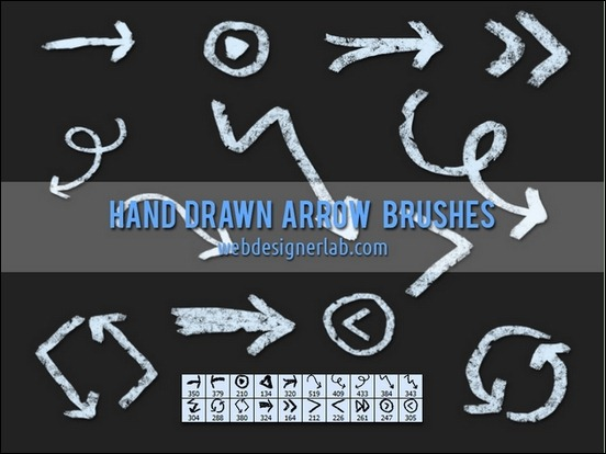 20-grungy-handdrawn-brushes
