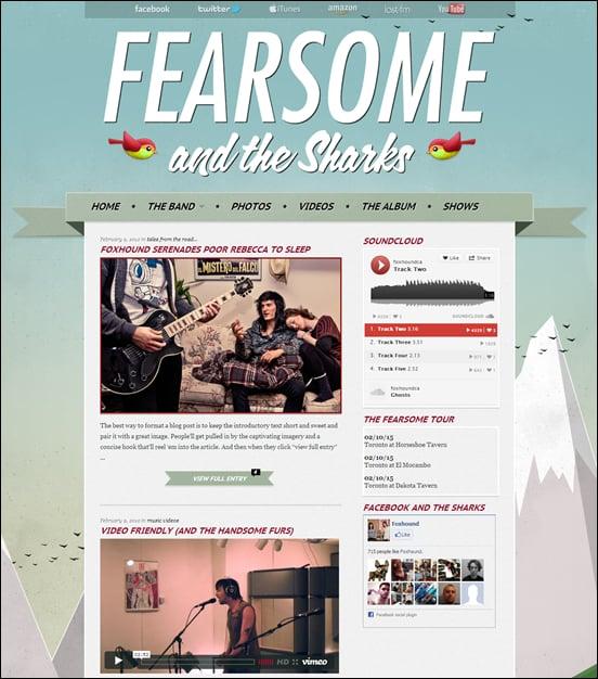 30+ Rocking WordPress Music Themes – Want More Fans?