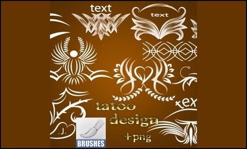 Tattoo-Design-Brushes