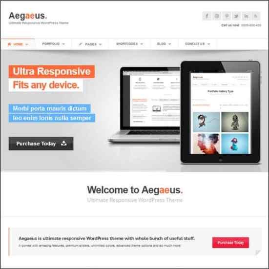 aegaeus wordress business themes