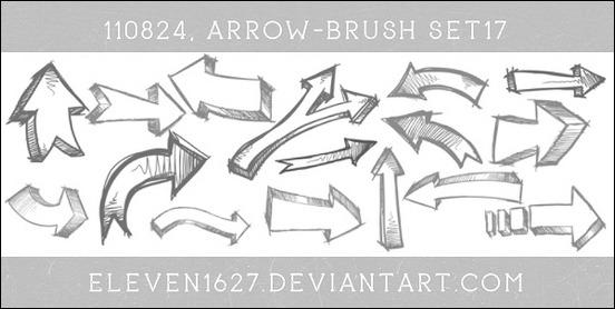 arrow-brush-set-17