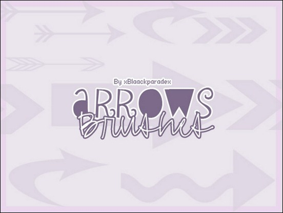 arrows-brushes-by-xxparadex