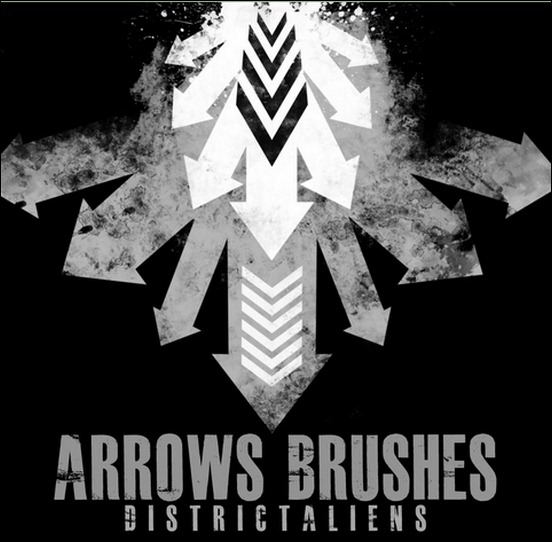 arrows-brushes