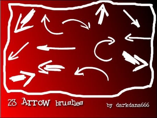 arrows-ponters-brushes