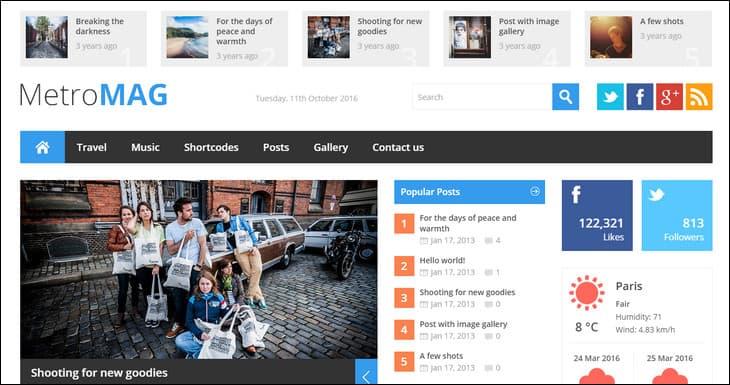 20 Best WordPress Magazine Themes (Get Attractive Website)