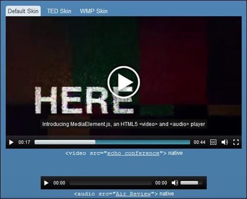 14 Great jQuery and HTML5 Audio Player Showcase
