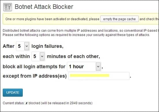 Protect Your WordPress Site Against Distributed Botnet Attacks