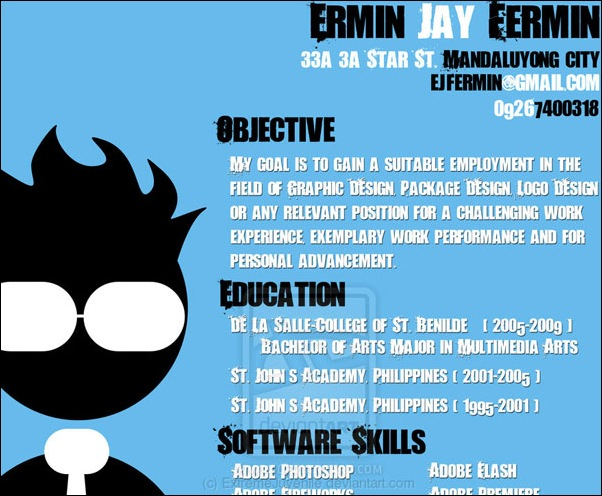 40 Smart and Creative Resume and CV Design Ideas