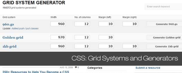 45+ CSS Grid Layout Generators