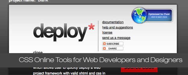 50+ Online CSS Tools for Web Developers and Designers